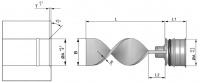 4) Přepážky chlazení spirálové - VNĚJŠÍ - korekční sada (RLS)
