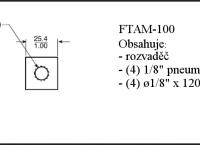 m) FasTie vzduchový rozvaděč (pro všechny velikosti)