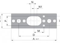Základní deska série 12 - jednokolíková