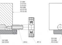 Základní deska série 12 - dvoukolíková