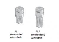 G) Výstružník pro kalibraci otvoru - pouze pro korekční série (AL a ALP)