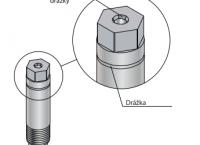 Jehla pro vyfukování plastů metodou GIT (IGB)
